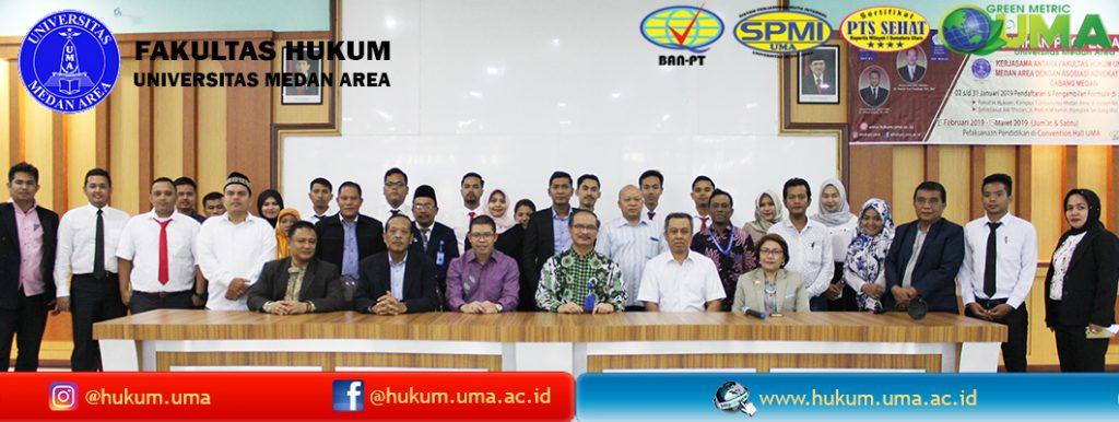 PPA Fakultas Hukum UMA dengan AAI Cabang Medan